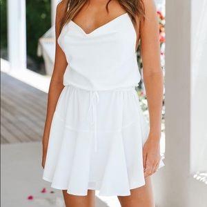 Hello Molly Arya dress in white
